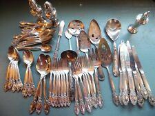 Silverware.& Flatware. Gorham & other.Estate lot. 64 pieces.