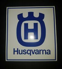 3 Husqvarna Stickers motorcycle chainsaw Trimmer enduro saw decals