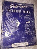 1950 Robbins - World Famous Accordion Solos