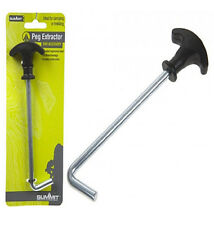 SUMMIT CAMPING METAL STEEL TENT AWNING PEG HOOK REMOVER EXTRACTOR PULLER LIFTER