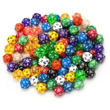 D20 Gaming Dice Twenty Sided Die RPG Children's arithmetic exercises Games