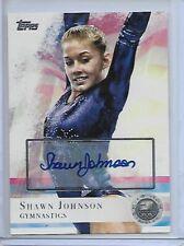 2012 Topps Olympic Silver Auto Shawn Johnson Gymnastics DWTS /30 Autograph
