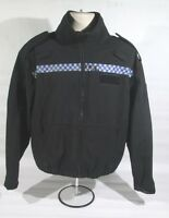 Ex Police Soft Shell Windproof Breathable Fleece With Chequered Strip