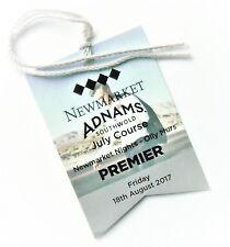 OLLY MURS MEMORABILIA - Souvenir Tickets / Badge Newmarket Racecourse 18/08/17