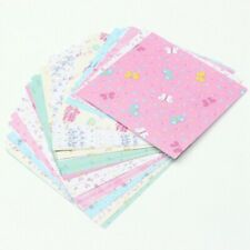 72Pcs/Set Square Floral Pattern Origami Paper Single Sided DIY Kids Folded Paper