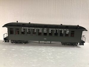 Accucraft 1:20.3 Coach  C&S Green