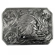 Boucle Western Indien, Bijoux de Plume, Chef Indien, Boucle de Ceinture