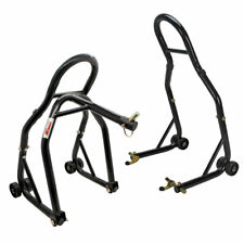 Extreme Max Sport Bike Front & Spool-Style Lift Stand w/Triple Tree Attachment