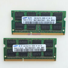 Samsung 4GB 2x2GB PC3-8500 DDR3 1066MHZ 204PIN SODIMM Laptop Memory Notebook RAM