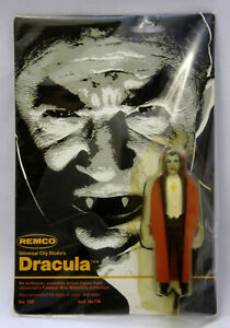 REMCO 1980 Dracula Universal Monsters Figure New on Card