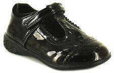 Scarpe casual in pelle nera per bambine dai 2 ai 16 anni