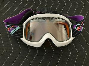 Roxy Snowboard Goggles - Antifog Treatment - Ski Snow Goggle - White
