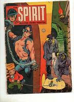 The Spirit #5 1954 Fiction House G/VG 3.0 Looks Nicer! RARE FINAL ISSUE! EISNER