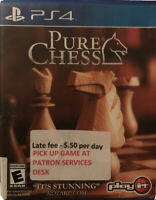 Pure Chess Ps4 PlayStation 4 Kids Game U.S. Version