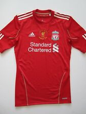 Liverpool 2010-12 Carling Cup Final Player Issue Adidas Techfit Soccer Jersey