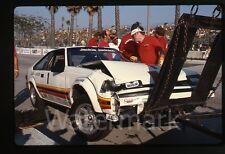 Vintage 1985  35mm  Photo slide Jackie Jacskson Five Car Crash Auto Racing LBGP