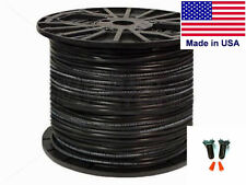 Dog Fence Wire 14 GAUGE Solid Core 500 ft HDPE 45ml Insulated Superior USA MADE