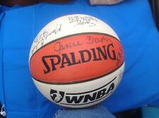 Spalding WNBA Official Game Ball Basketball-Team Rockers Signed Janice Braxton+