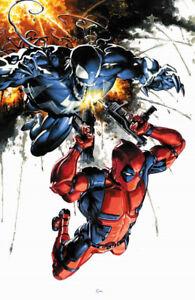 VENOM #1 Clayton Crain Virgin Variant  Marvel 1st Print NM Limited To Only 1000