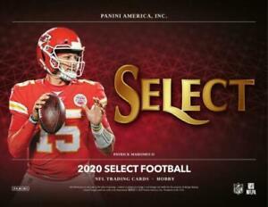 CLEVELAND BROWNS 2020 PANINI SELECT FOOTBALL 1/3 CASE 4 BOX TEAM BREAK #2