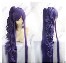 FREE SHIPPING !! Vocaloid Gackpoid Miku Gakupo Dark Purple Cosplay Wig W002 018A
