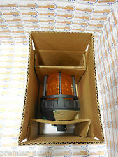 FEDERAL SIGNAL, 191XL-120-240A, Hazardous Warning Light, LED, Amber