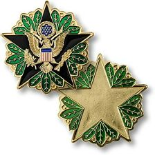 US Army Staff Identification Badge Challenge Coin Secretary Headquarters HQDA
