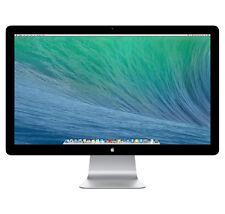 """Apple Thunderbolt MC914ZM 27"""" Widescreen LCD Monitor, haut-parleurs intégrés"""