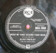 Elvis Presley / Wear My Ring Around Your Neck & Don´cha Think It´s...(108-1113)