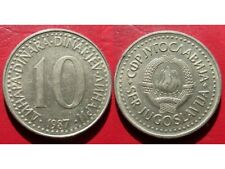 COIN / YUGOSLAVIA / 10 DINARA / 1987 YEAR