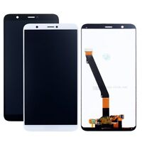 DISPLAY LCD + TOUCH SCREEN + PER HUAWEI P SMART VETRO SCHERMO RICAMBIO