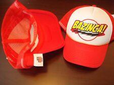 BAZINGA BIG BANG THEORY RETRO  HAT CAP ADJUSTABLE  SNAPBACK