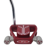 T7 Twin Engine Red Mallet Golf Putter 34 Inches Men's Standard Length Putter