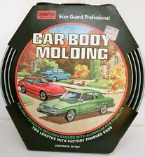 Vtg Car Body Molding 18' Stan Pro Deluxe Usa Made 1970s Car Accessories Nos New