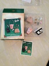 BARBIE ACCESSORIES ADDING THE RIGHT TOUCH,Yr 2004 HALLMARK MINIATURES ORNAMENTS
