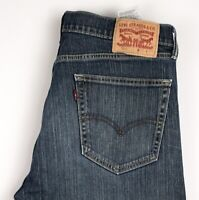 LEVI'S Strauss & Co Hommes 505 Extensible Jambe Droite Jean Taille W33 L32