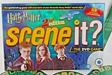 Harry Potter Scene It 2nd Edition Board Game. Family DVD Board Game