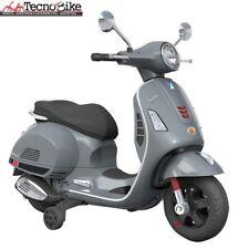 Moto elettrica per Bambini Piaggio Vespa GS GTS Super Grigio