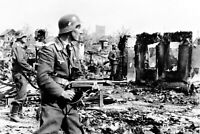 WWII photo Soldiers of the 3rd battery of the 25th Wehrmacht Stalingrad 92m