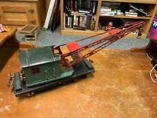 Lionel Standard Gauge - 219 Peacock Crane Care