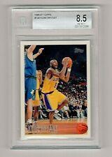 1996-97 Topps #138 Kobe Bryant Rookie Card BGS 8.5 (Los Angeles Lakers)