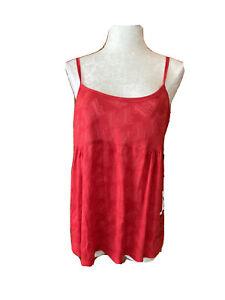 NWT Tony Stewart Office Depot #14 Ladies Tank Thin Sheer Size XL Red  NASCAR