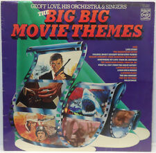 Geoff Love His Orchestra & Singers ‎- The Big Big Movie Themes LP James Bond UK