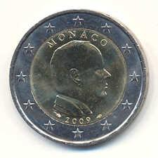 +++ 2 Euro Monaco 2009 le Prince Albert II Kursmünze-RAR +++