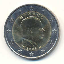 +++ 2 Euro Monaco 2009 Fürst Albert II Kursmünze - rar +++