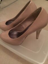 Nude high heeled shoes, Size 5