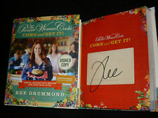 Ree Drummond signed Come and Get It! 1st printing hardcover book tipped in page