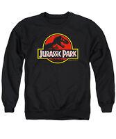 JURASSIC PARK CLASSIC LOGO Licensed Adult Pullover Crewneck Sweatshirt SM-3XL