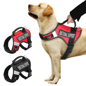 Emotional Support Dog Training Harness Vest Medium Large Removable Patches