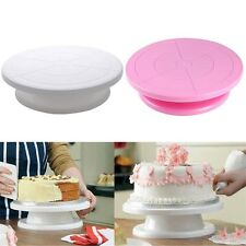 23cm Cake Decorating Turntable Rotating Revolving Kitchen Display Stand AW